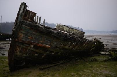 Quelmer, cimetière de bateaux